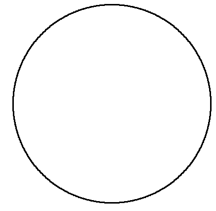 circle drawn with 3x3 gif